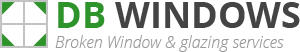 Thelwall Broken Window Logo